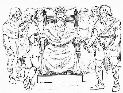 524x394 Norse Mythology Coloring Pages