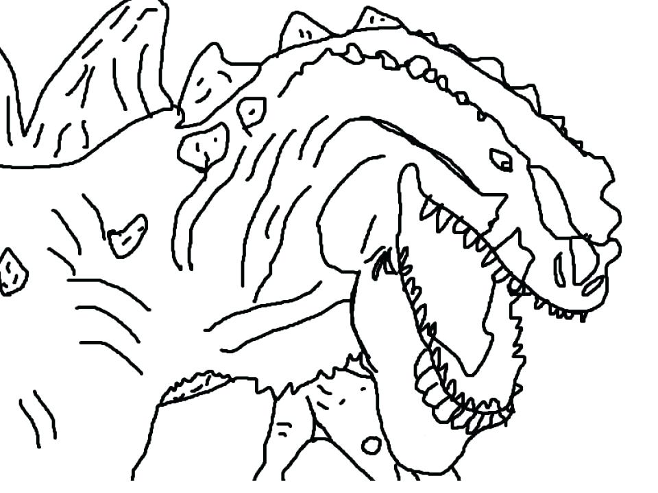 960x720 Godzilla Coloring Kids Printable Coloring Pages Free Online