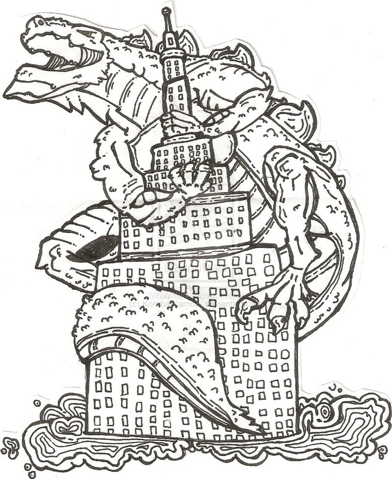 809x988 Godzilla Coloring Pages Pictures Imagixs Birthday