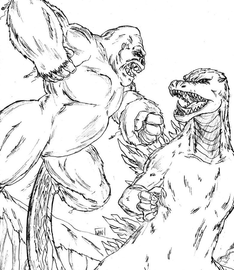 781x900 Godzilla Coloring Pages Free Large Images Download To Print
