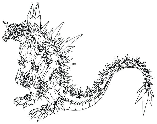 600x475 Godzilla Coloring Sheets Space Coloring Pages Photo Gallery