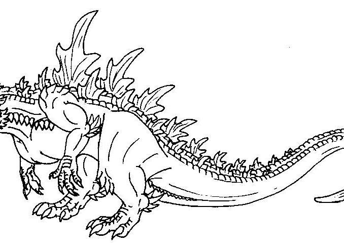 678x496 Godzilla Printable Coloring Pages Godzilla Coloring Pages