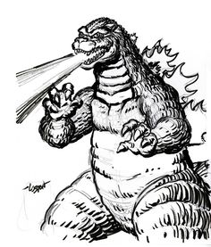 236x277 Printable Godzilla Coloring Pages For Kids Great Coloring Pages