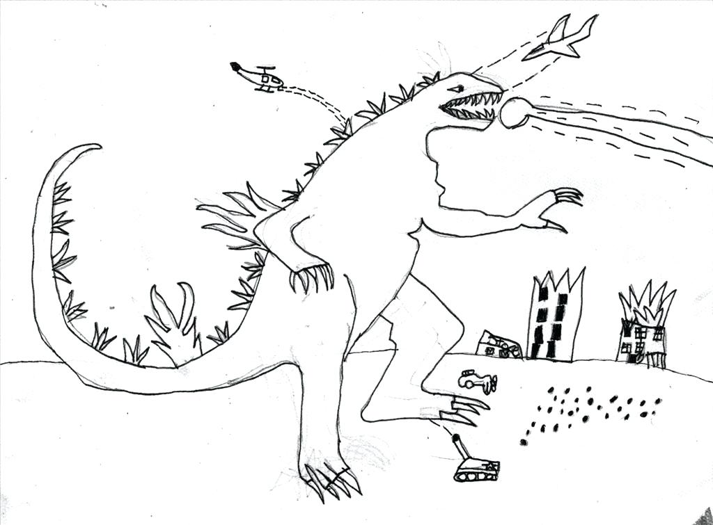 1024x755 Godzilla Coloring Pages Vs Coloring Pages Coloring To King Vs