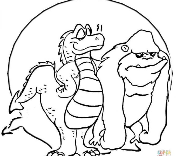 678x600 Godzilla Coloring Pages Download Coloring Pages Coloring Pages