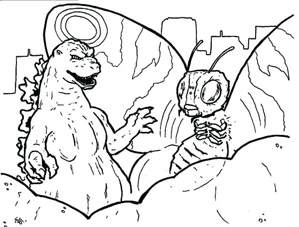 600x456 Mothra Coloring Pages Coloring Pages Printable Coloring Coloring