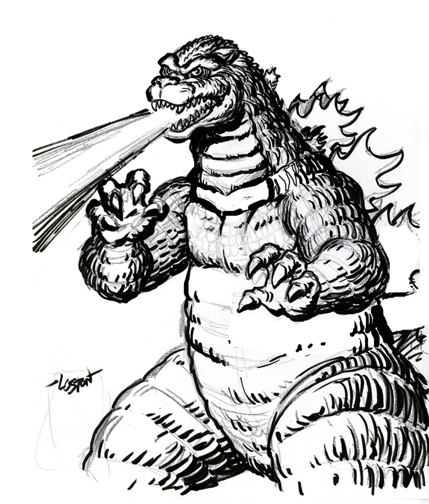851x1000 Printable Godzilla Coloring Pages Remarkable Book