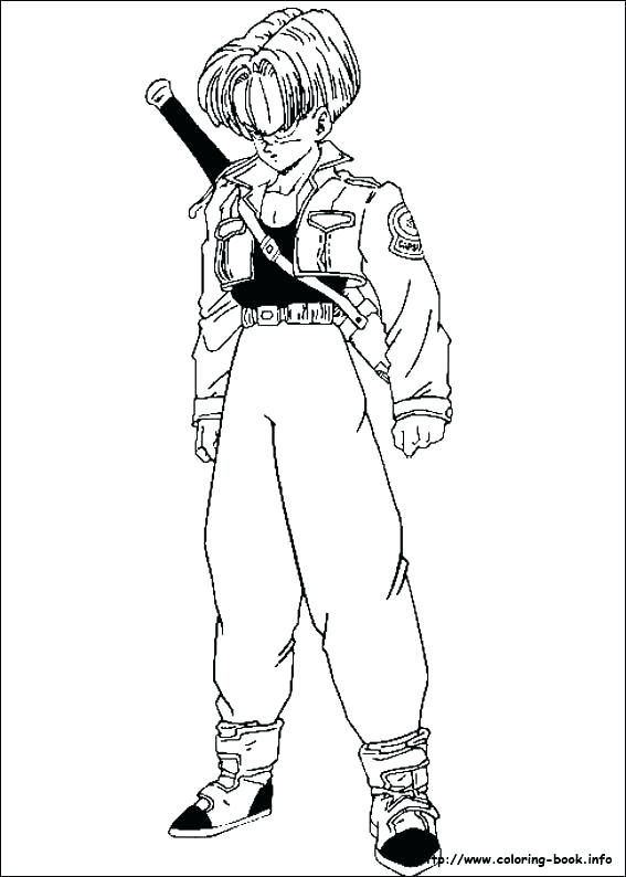 567x794 Super Saiyan Coloring Pages Coloring Pages Index Coloring Pages
