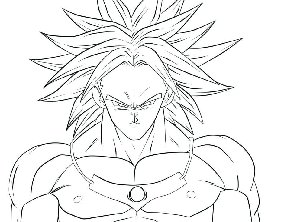 940x733 Super Saiyan Coloring Pages Super Coloring Pages Dragon Ball Z Son