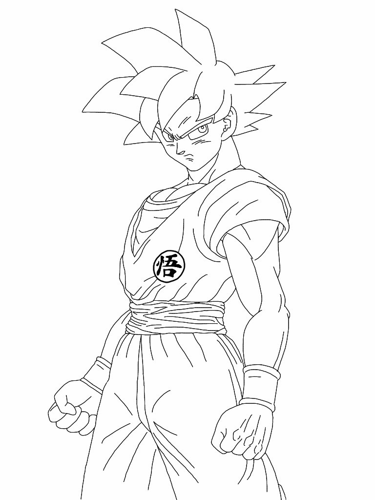 768x1024 Easily Vegeta Coloring Pages Goku Vs Games New