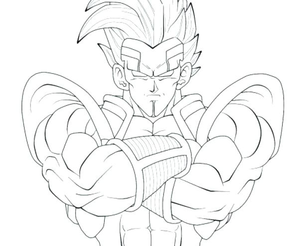618x494 Goku Ssj Coloring Pages Dragon Ball Gt Coloring Pages Intended