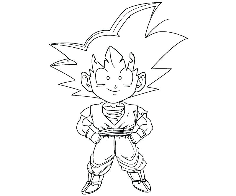 800x667 Luxury Goku Coloring Pages For Coloring Pictures Detail
