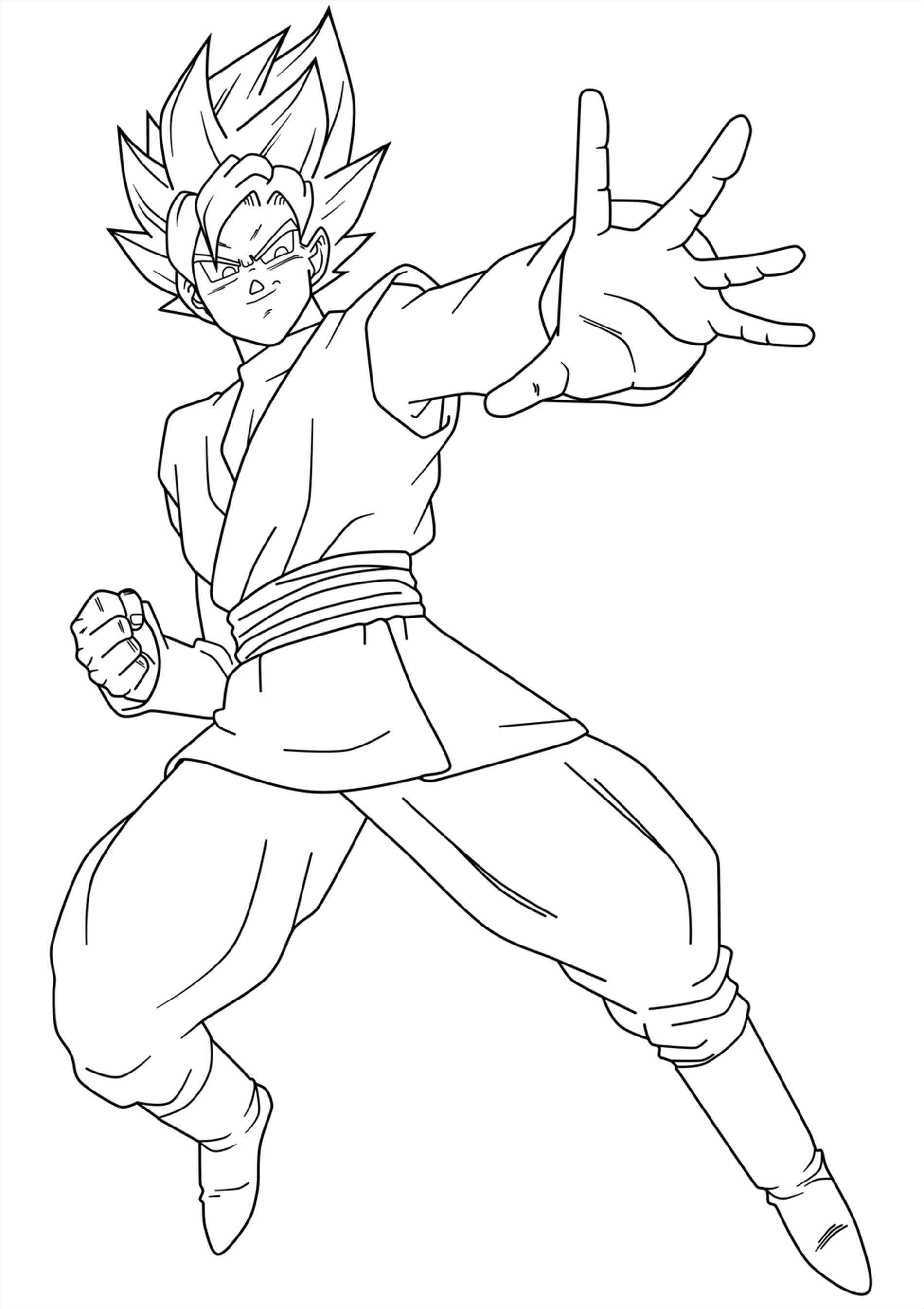 1900x2690 Best Of On Black Super Saiyan Rose Coloring Pages Ssj