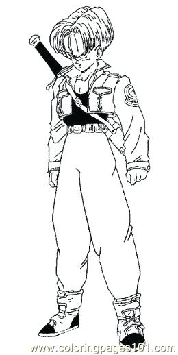 260x518 Dbz Coloring Pages Dragon Ball Z Coloring Pages Goku Super Saiyan