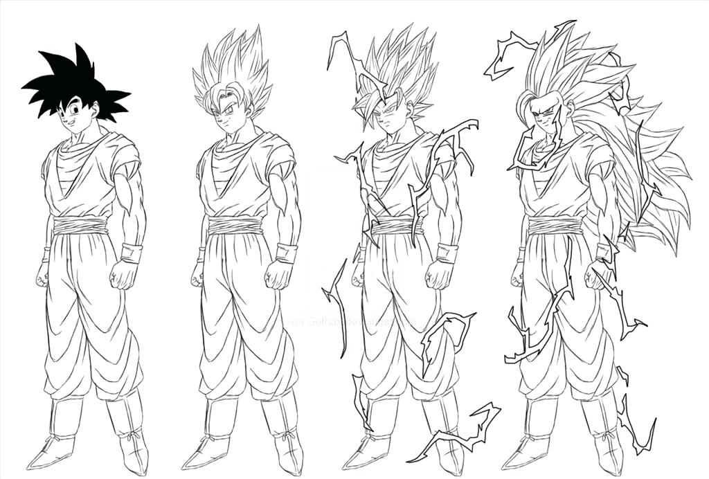 1024x692 Goku Coloring Page Coloring Pages Printable Coloring Pages Dragon