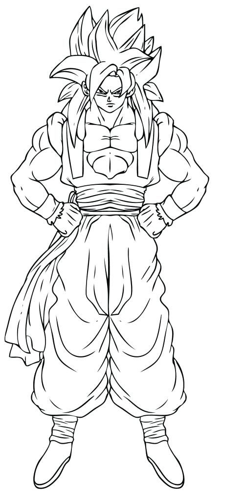 501x1024 Vegeta Coloring Pages Super Saiyan Goku Coloring Pages Super