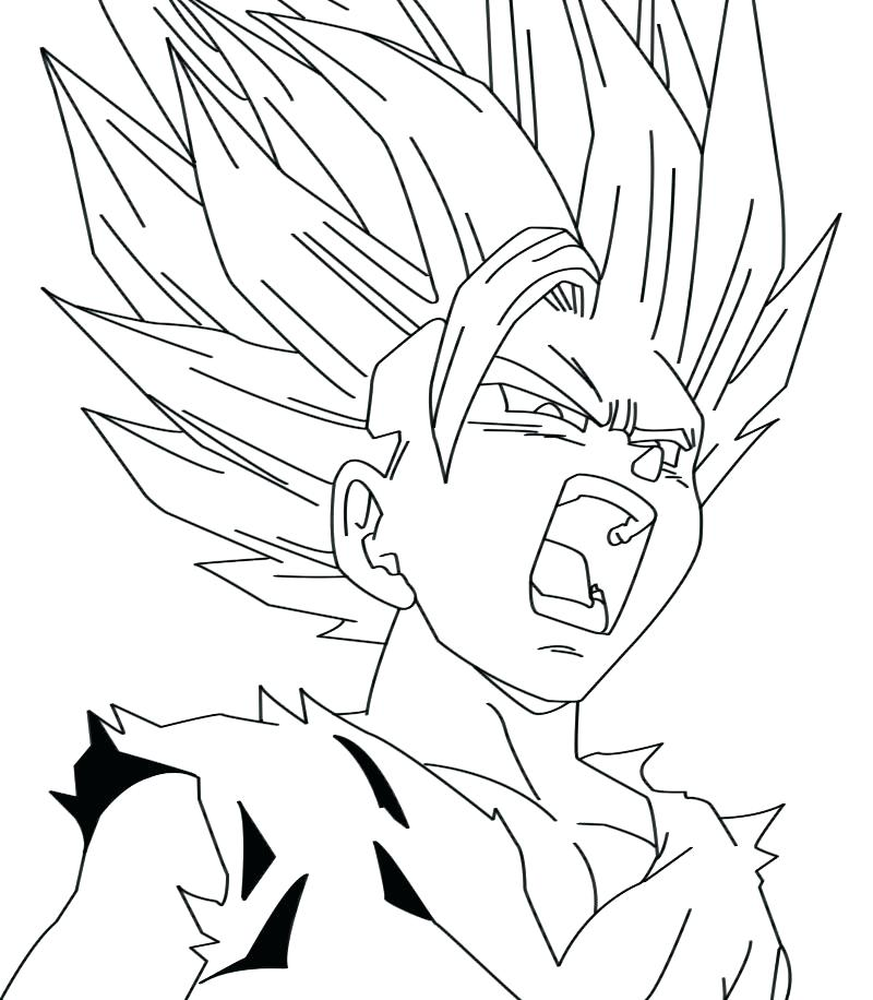 800x916 Best Of Goku Coloring Pages And Son Super Coloring Page Dbz
