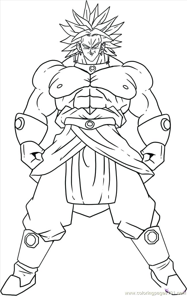 The Best Free Broly Coloring Page Images Download From 42 Free