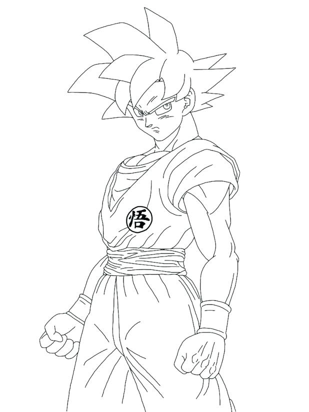 618x824 Goku Coloring Games Dragon Ball Z Coloring Pages Super God Online