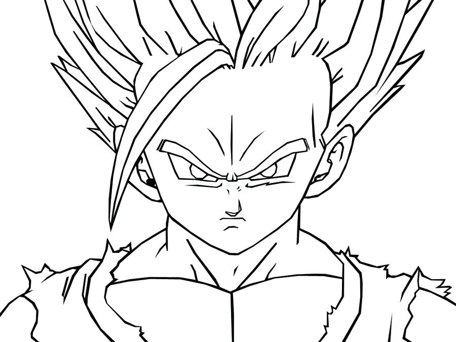 900x675 Coloring Dragon Ball Z Coloring Pages Printable Sheets Goku Super