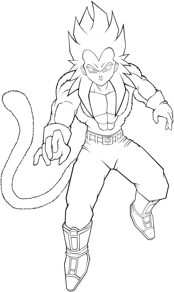 610x1020 Super Saiyan Goku Coloring Pages Az Coloring Pages, Super Saiyan