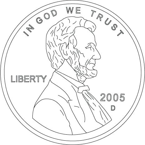 465x464 Coin Coloring Pages Coin Coloring Pages Gold Coins Printable