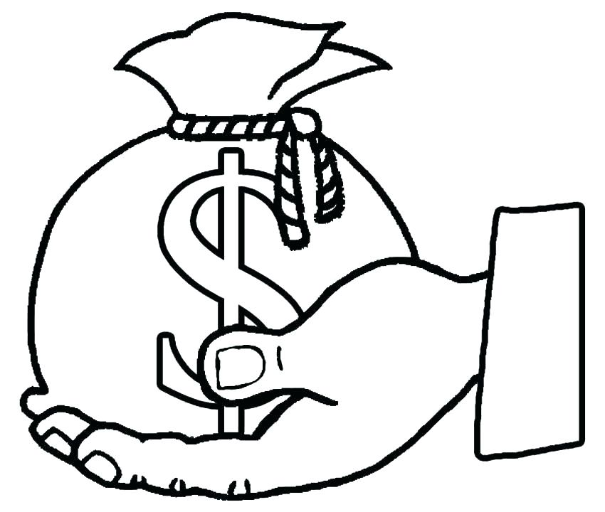 850x720 Coins Coloring Page Coin Coloring Page Coins Printable Money Pages