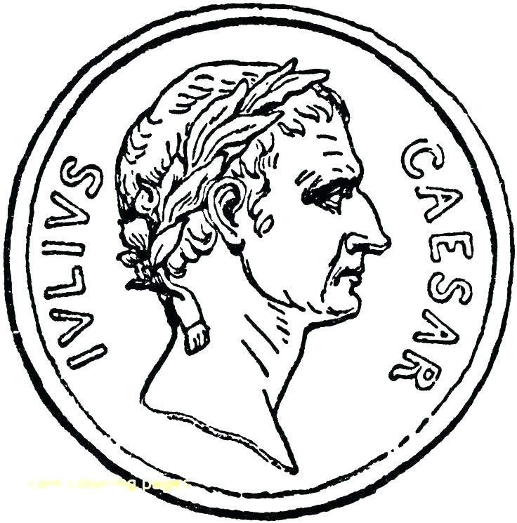 736x745 Coins Coloring Page Coin Coloring Pages Beautiful Coin Coloring