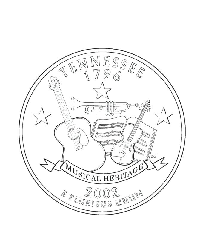 670x820 Coins Coloring Page State Quarter Coloring Page Gold Coins