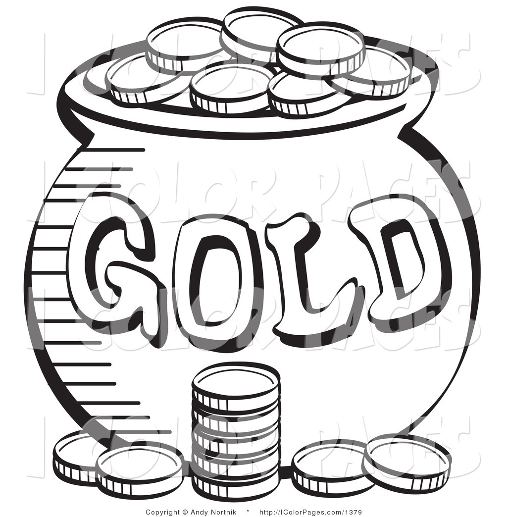1024x1044 Gold Coins Coloring Pages Printable Coloring For Kids
