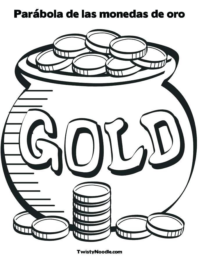 685x886 Coin Coloring Page Coin Coloring Pages Coins Coloring Page