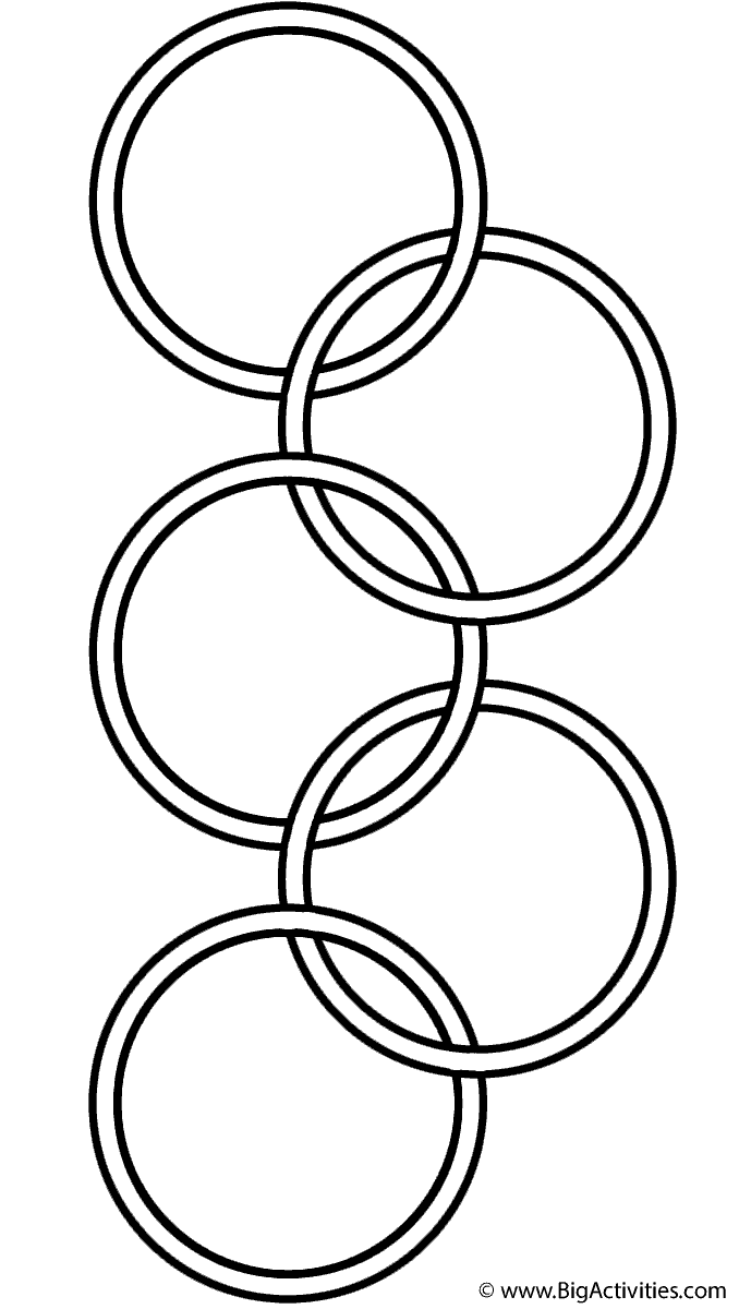 678x1200 Olympic Symbol