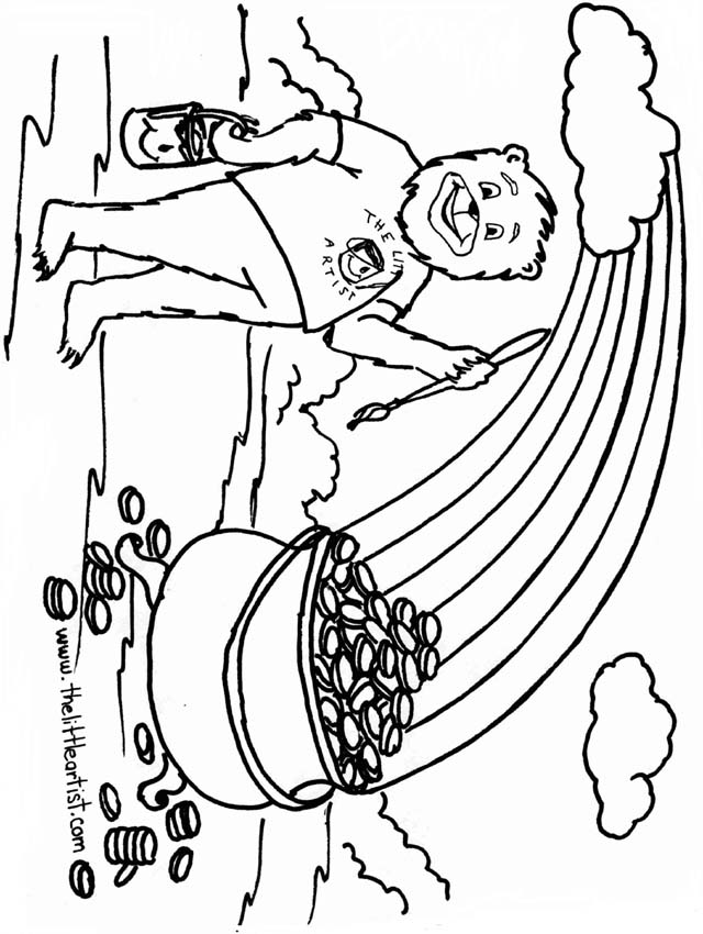 640x850 Gold Rush Coloring Pages