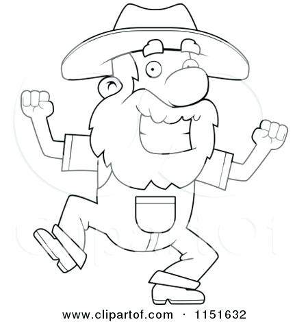 450x470 Gold Rush Coloring Pages Prospector Coloring Pages Gold Rush