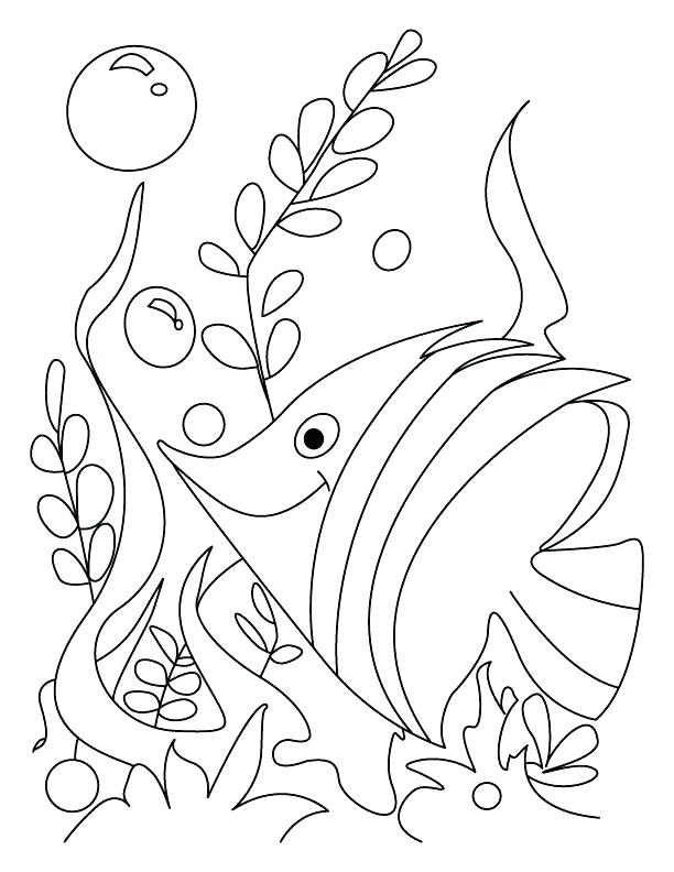 612x792 Gold Rush Coloring Pages Tropical Fish Coloring Pages Fish Gush