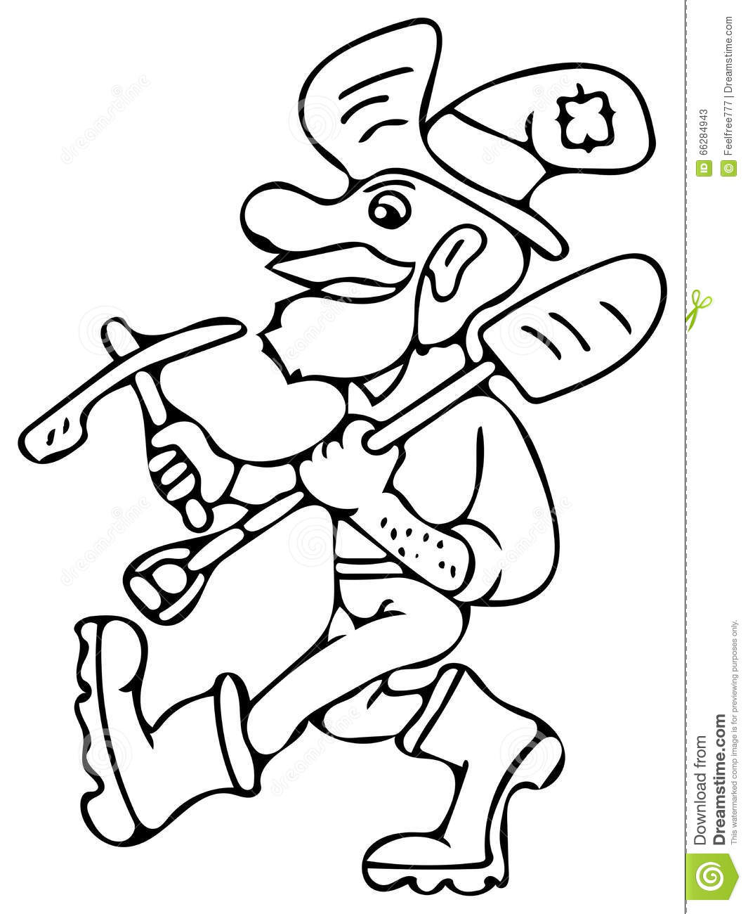 1065x1300 Gold Rush Coloring Pages Very High Hand Drawing Illustration