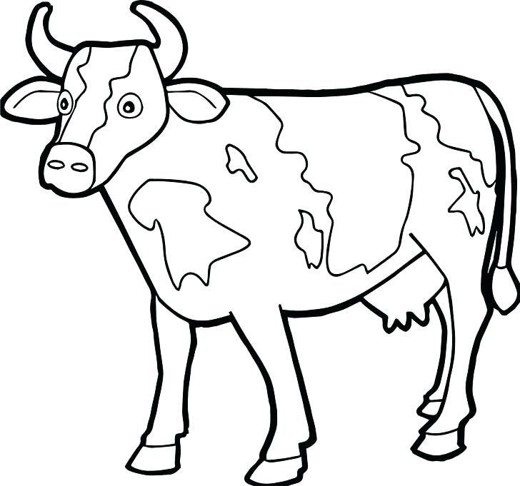 728x681 Golden Calf Coloring Page Golden Calf Coloring Page Farm Animal
