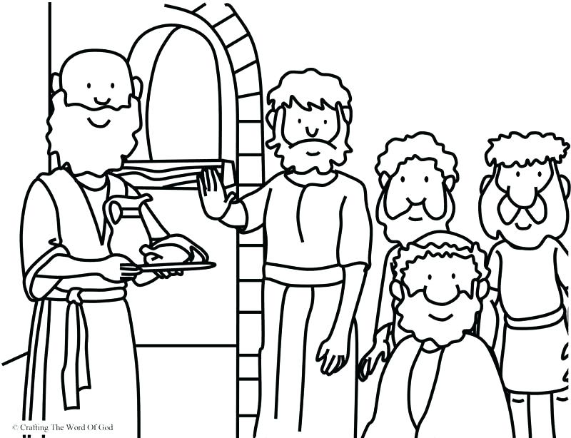 800x614 Coloring Page Destroyed The Golden Calf Coloring Coloring Page