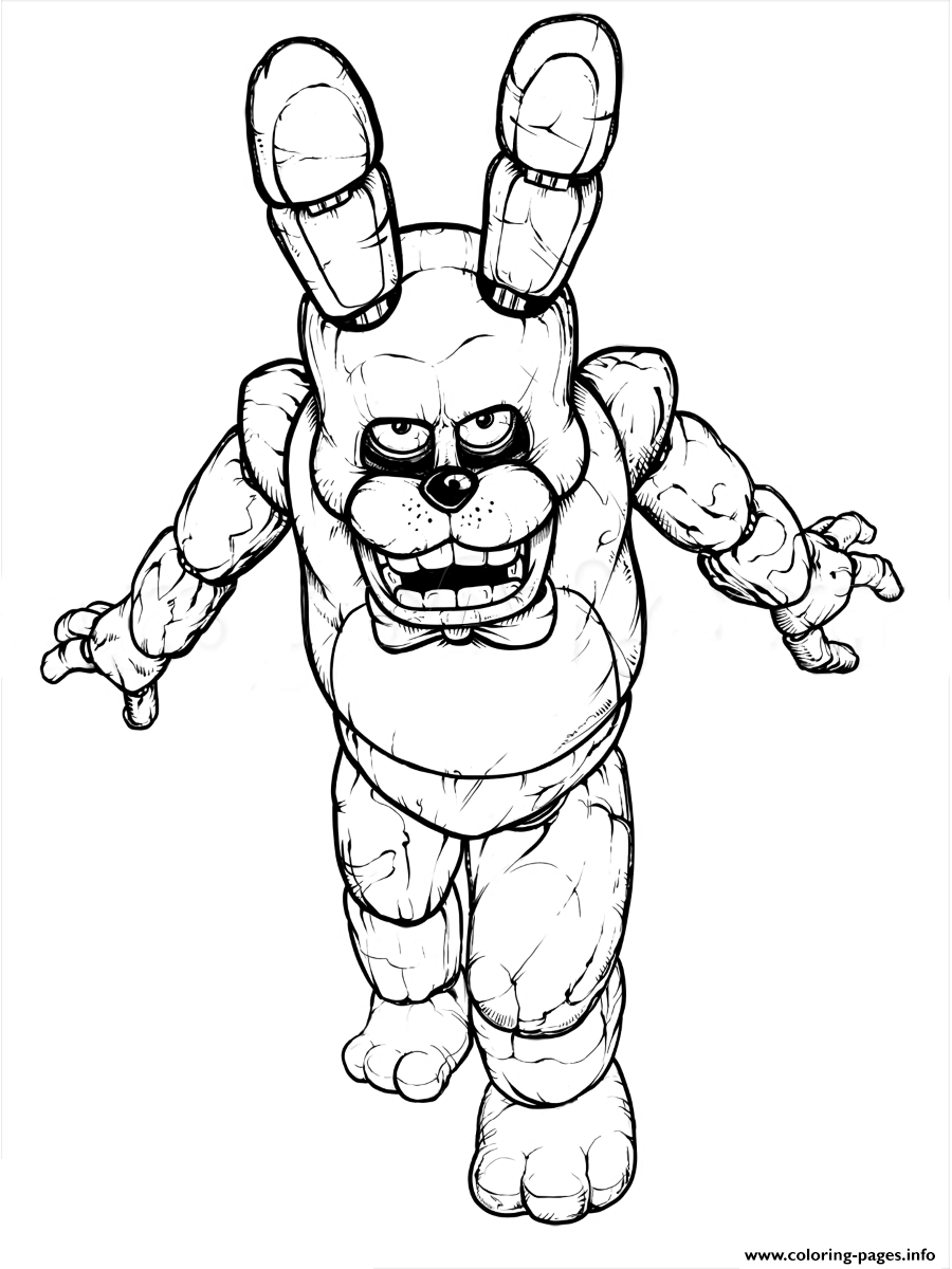 900x1200 Fnaf Freddy Five Nights At Freddys Free To Print Coloring Pages