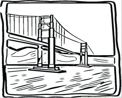 400x322 Golden Gate Bridge Coloring Page Article Golden Gate Bridge