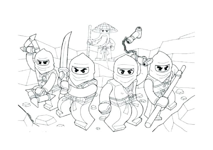 707x500 Lego Ninjago Coloring Page Complete Coloring Pages Print Printable