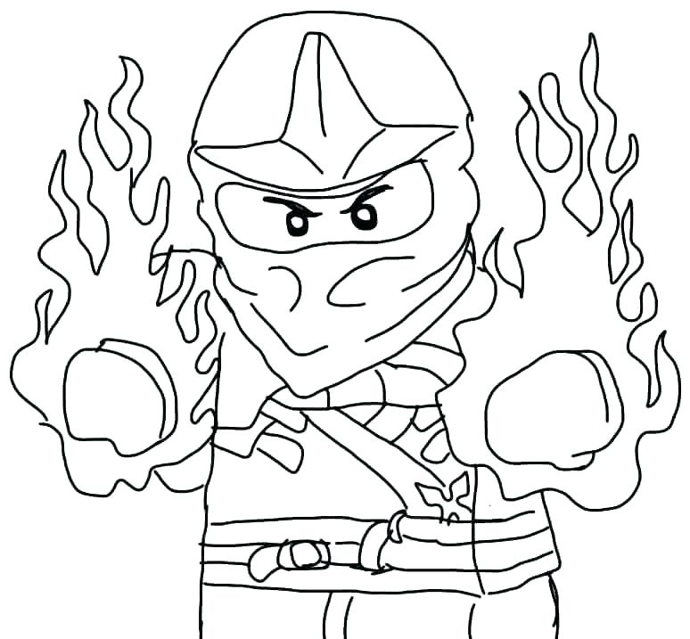 774x717 Lego Ninjago Coloring Pages Kai Kx Best Of Golden Ninja