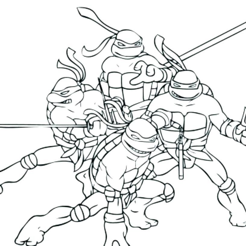 816x816 Ninja Coloring Pages Free Ninja Coloring Pages Gallery