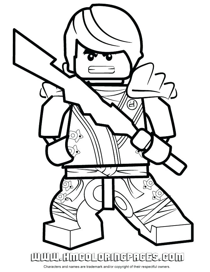 670x867 Ninja Coloring Pages Golden Coloring Pages Gold Ninja Coloring