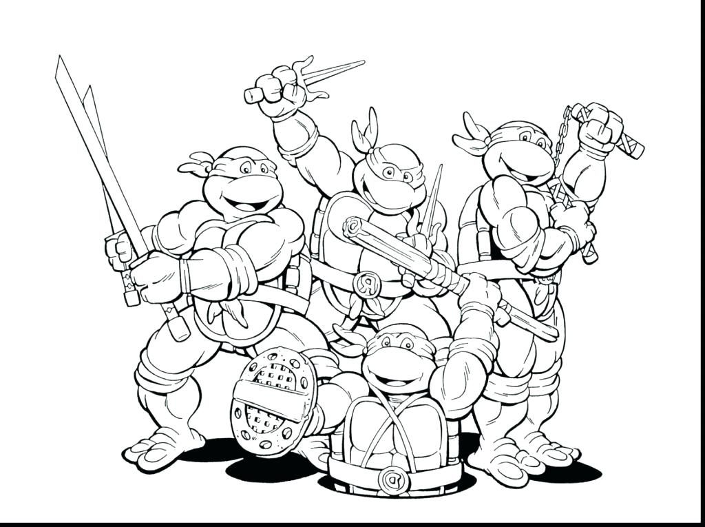 1024x765 Ninja Coloring Pages Ninja Coloring Page Turtles Pages Luxury