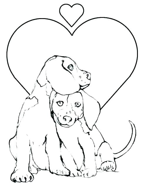 500x652 Puppy Coloring Pages Printable Coloring Pages Puppy Puppy