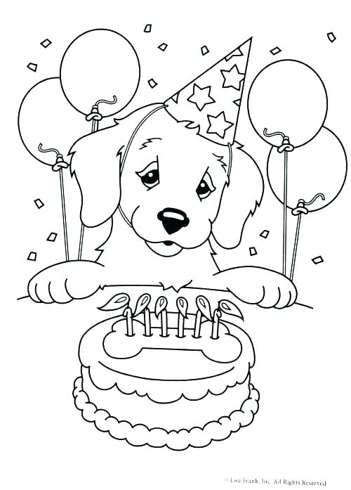 500x697 Cute Cartoon Puppy Coloring Pages Golden Retriever Top Crayola