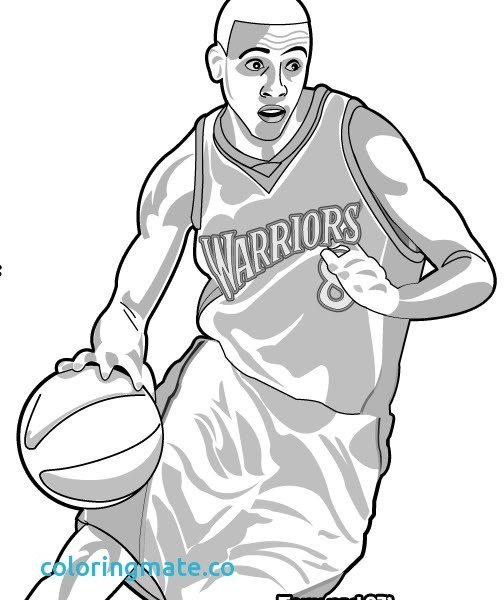504x600 Golden State Warriors Coloring Pages Online Coloring Pages