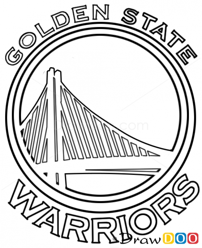 665x813 Golden State Warriors Logo Coloring Page Image Result For How