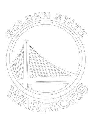 306x408 Logos Coloring Pages Warriors Coloring Pages Golden State Logos